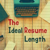 what is the ideal resume length - Ideal Resume Length