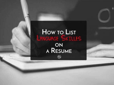 How-to-List-Language-Skills-on-Resume