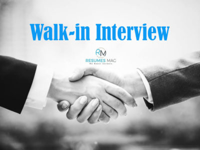 What is Walk-In-Interview