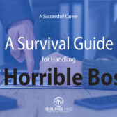 A Survival Guide for Handling a Horrible Boss