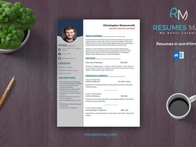 Apex - Two Pages Professional Resume Template