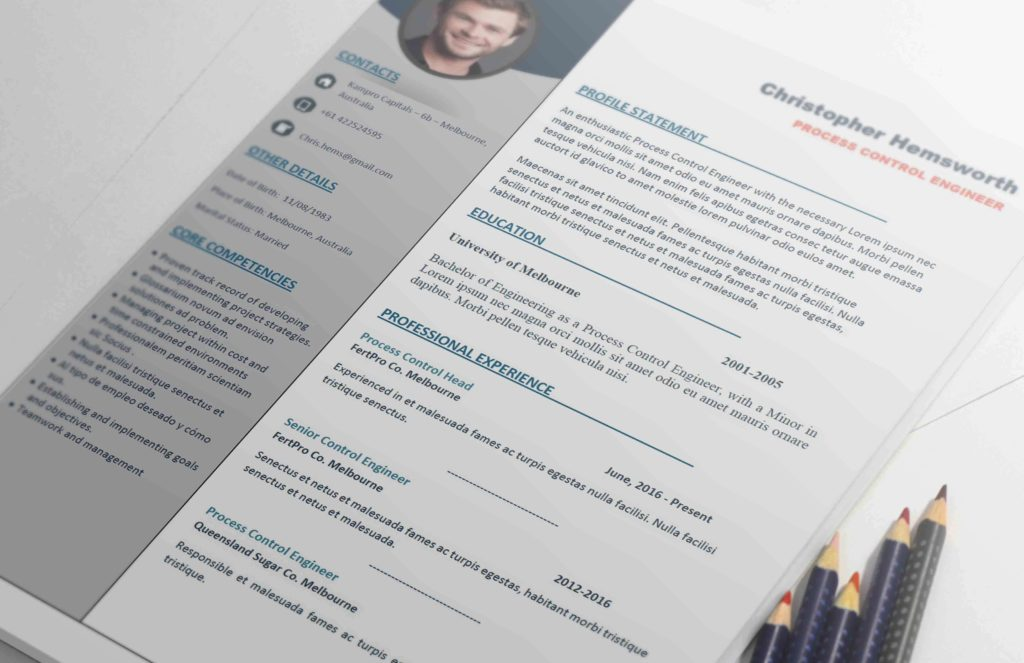 Apex - Resume Template