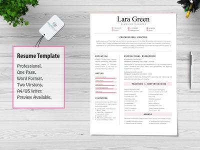Consilio-Professional Resume-Template
