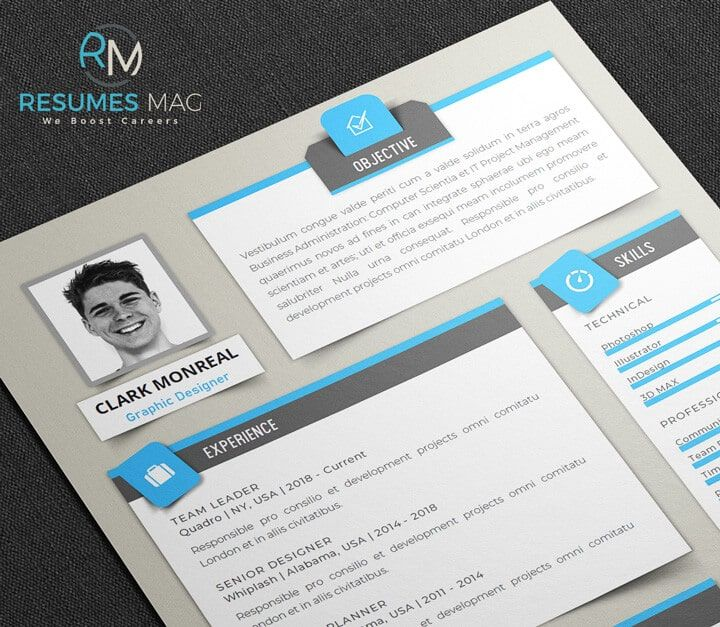 Sombra Modern English Resume Template_Single